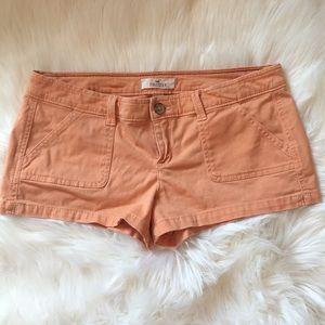 Orange Hollister Shorts